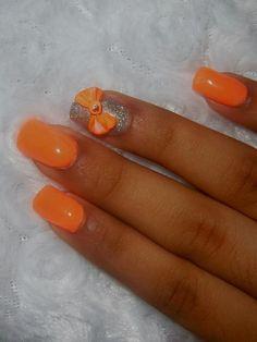 las uñas de mi niña con 3D