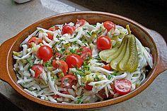 Kohlrabi-Salat, ein tolles Rezept aus der Kategorie Gemüse. Bewertungen: 83. Durchschnitt: Ø 4,1.