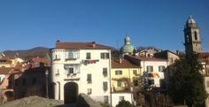 Winter sunshine in Pontremoli, Tuscany