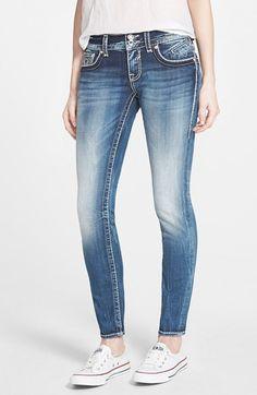 Vigoss 'Chelsea' Skinny Jeans (Medium) available at #Nordstrom