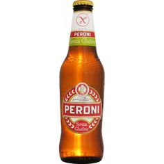 Peroni Senza Glutine is een evenwichtige en frisse pilsener. Senza Glutine is het glutenvrije paradepaardje van Birra Peroni en heeft een alcoholpercentage 4,7%.