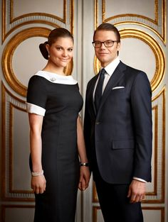 HRH Victoria, Crown Princess of Sweden; Duchess of Västergötland & HRH Prince Daniel, Duke of Västergötland