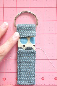 Little Bit Funky: 20 minute crafter - chapstick cozy - {five minute edition}