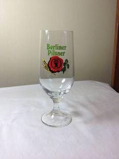 Berliner Pilsner beer glass by ugliducklings on Etsy
