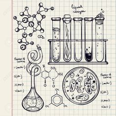 Love me some science Doodle Inspiration, Logos Online, Sketch Note, Doodles, Ravenclaw, Book Pages, How To Draw Hands, Artsy, Sketches