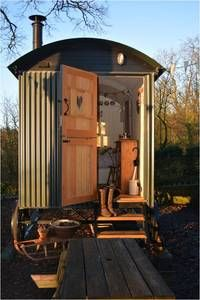 Welcome to bed and breakfast in Eyam, a beautiful Shepherds Hut in the heart of The Peak District. Shepherds Hut, Peak District, Derbyshire, Bed And Breakfast, Places To Travel, Beautiful Places, Shed, Outdoor Structures, Holidays