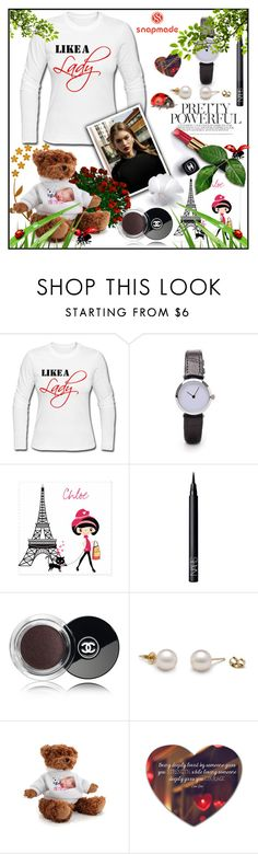 """Snapmade 3/2"" by sennci ❤ liked on Polyvore featuring Chanel and NARS Cosmetics"