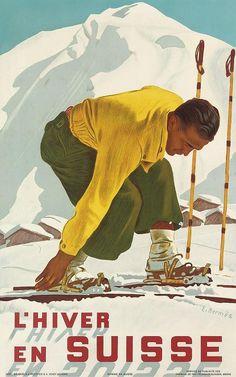 Erich Hermès, Swiss, 1881 - 1971, Poster
