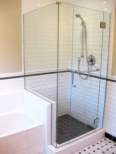 Picture gallery of our custom glass showers & bathrooms in Victoria BC   Royal Oak Glass Victoria #shower #ideas