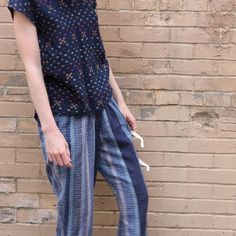 Ace & Jig Denim Hall Trousers on Shop Spring App! Only one pair available.