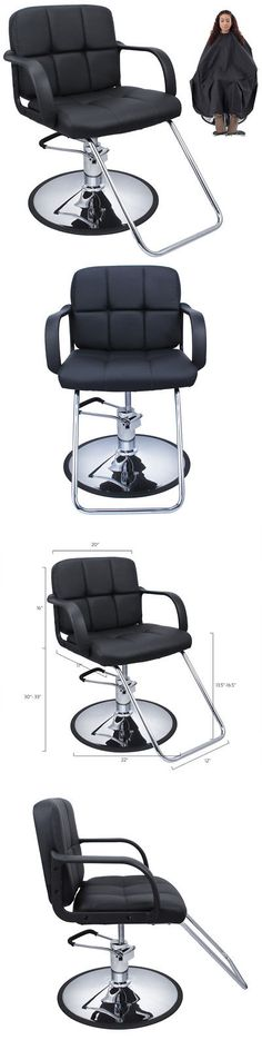 Stylist Stations and Furniture: Professional Black Hydraulic Styling Barber Chair Hair Beauty Salon Equipment Hd -> BUY IT NOW ONLY: $69.99 on eBay!