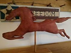 Primitive Horse Weathervane by farmersattic on Etsy