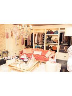 Rosie Huntington-Whiteley closet vIa ELLE