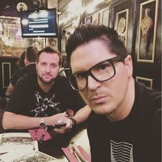 Ghost Adventures: Billy Tolley and Zak Bagans.