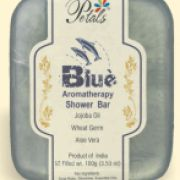 #Aromatherapy #Shower #Bar : Jojoba Oil • Wheat Germ • Aloe Vera  Looking for clean, clear and form skin!! Jojoba oil is very rich in proteins and minerals and hence greta for nourishing, rejuvenating and hydrating skin. Once you try these handcrafted Natural soaps with Pure Botanical Extracts Aromatherapy Oils you won't want to use any other. We have 27 varieties to choose from so go ahead and indulge yourself.  Weight: 100 grams Price: Rs. 60  http://mumbaigoesgreen.com/node/458