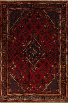 Joshagan Hand Knotted Wool Rug (Size 212 x 140cm)