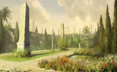 Hippodrome Gardens from Assassin's Creed: Revelations