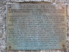 Ongwe Oweh - Iroquois Prayer - First Nations history - Toronto, Canada by mtlicq, via Flickr