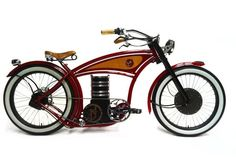 "2014 B4 Retro Electric E-Cruiser Bike. built by the Dutch B4 company in the ""Retro"" Style this electric bike has a 100Km range and a 4-hour recharge to full capacity. Prices start at Euro 5499.00"