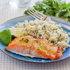 Lime Ginger Salmon Recipe on Yummly