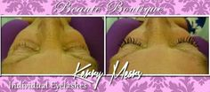 Individual eyelash extensions by Beaute Boutique xx