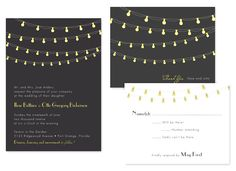 Wedding invitations from #PrintablePress