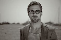 Cool boys in glasses - Ryan Gosling in Barton Perreira Chestnut glasses #eyewearbyolga