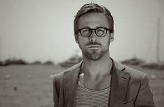 Cool boys in glasses - Ryan Gosling in Barton Perreira Chestnut glasses #eyewearbyolga