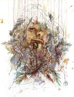 Portraits Drawn with Tea, Vodka, Whiskey and Ink by Carne Griffiths | Just Imagine - Daily Dose of Creativity