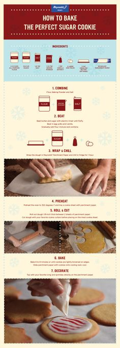 How to bake the perfect sugar cookie!