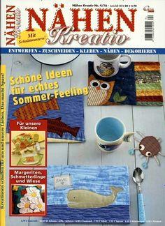 Schöne Ideen für echtes Sommer-Feeling. Gefunden in: Nähen Kreativ, Nr. 4/2016