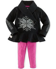 Ralph Lauren Baby Girls' 2-Piece Pullover & Leggings Set