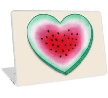 Summer Love - Watermelon Heart Laptop Skin