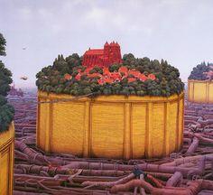 State Of Water <<Art of Jacek Yerka