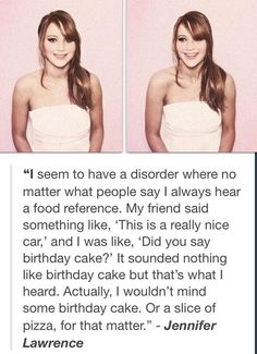 Hahaha I could marry food. Or Jennifer Lawrence <3