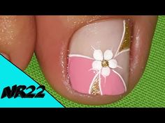 Cute Pedicure Designs, Bridal Nails Designs, Nail Art Designs, Purple And Pink Nails, Feet Nail Design, Cute Pedicures, Pretty Toe Nails, Black Acrylic Nails, Feet Nails