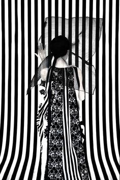 Photo: Erik Madigan Heck Ann Demeulemeester by Elvis Pompilio hat,