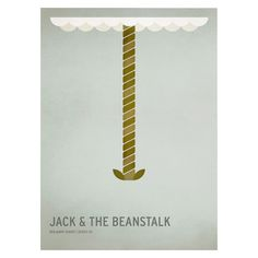 Jack and the Beanstalk Unframed Wall Canvas