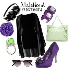 """""""Maleficent"""" by lalakay on Polyvore"""