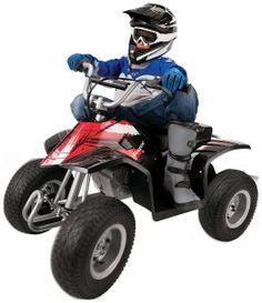 2. Razor Dirt Quad ATV in Black