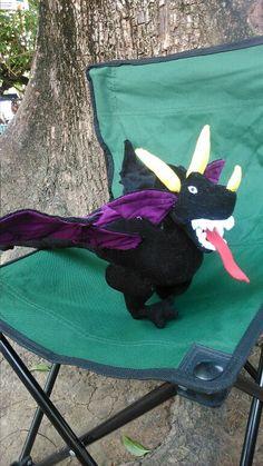 Dragão em tecido   Dragão em tecido