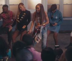 Shake it! The trio got their groove on and gave a thrill to Destiny's Child fans who surel...