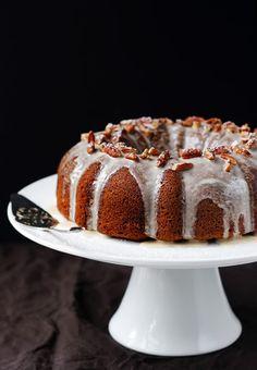 Sweet Potato Bundt Cake With Cinnamon Vanilla Glaze