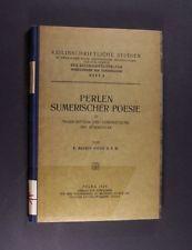 Perlen sumerischer Poesie in Transcription und Übersetzung mit Kommentar von Mau
