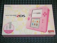 NEW Nintendo 2DS console system PINK w/SD & AC adapter JAPAN import not 3DS F/S    eBay