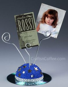 Father's Day Craft for kids: CD Photo Clip #FathersDayCrafts #RecycleCrafts