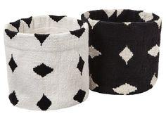 Pin for Later: Sneak Peek! Nate Berkus's New Fall Collection For Target  Cotton basket set ($30)