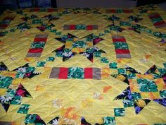 Quilt I made for my oldest grand daughter as she went off to college