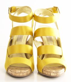 STELLA MCCARTNEY HEELS #yellow #wearabledesign