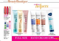 #AVON Hand creams & Chap Stick  YourAVON.com/marygraves